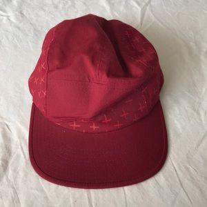 Volcom stone burgundy hat one size